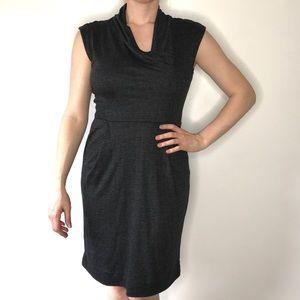 Banana Republic Gray Soft Textured Dress